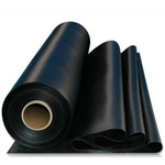 Пленка полиэтиленовая  ЧЕРНАЯ 1.5м, 0.15мм ( 150мкм)