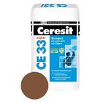 Затирка д/плитки  темно-коричневая №58 CEREZIT 2кг