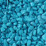 Щебень декоративный голубой,  5 кг