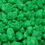 Щебень декоративный  Зеленый , 5 кг
