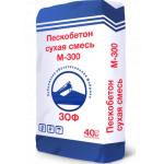 Пескобетон М-300, г. Зубцов  40кг