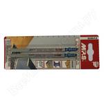 Пилки для лобзика MPS 3150-F (дерево.нерж,сталь.лам.ДСП)
