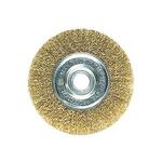 Щетка дисковая D=75 мм DEXX латунир провока 0,3 мм
