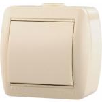 710-0300-100 Выключатель кремовый о/п