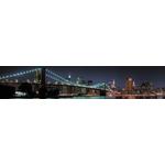 Панель  Фартук Бруклинский мост 3000х600х1.5мм