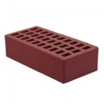 Кирпич  облицовочный для камина одинарный (утолщенная стенка) М-150