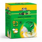 Комплект для уничтожения комаров:жидкость+ электрофумигатор Nadzor /24 шт