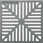 Решетка д/дождеприемника стальная штампованная 280*280мм