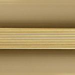 Кант полукруглый 40мм ,0.9м Золото