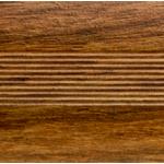 Кант полукруглый 40мм,0.9м Дуб медовый