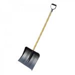 Лопата снегоуборочная Bитязь  380*365мм с деревянным черенком