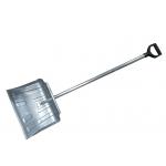 Лопата снегоуборочная АМЕРИКАНКА-3 500*430 с алюминиевым черенком V ручкой