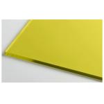 Монолитный поликарбонат 3мм 2,05*3,05м Желтый