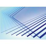 Монолитный поликарбонат 0.8мм  1,25*2,05м Прозрачный