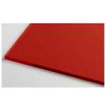 Монолитный поликарбонат 4мм 2,05*3,05м Красный