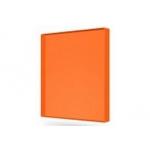 Монолитный поликарбонат 4мм 2,05*3,05м Оранжевый