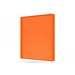 Монолитный поликарбонат 12мм  2,05*3,05м Оранжевый
