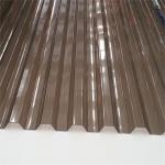 Поликарбонат профилированный (Кровельный) 1050х2000х0.8мм Серый