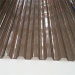 Поликарбонат профилированный (Кровельный) 1050х2000х1.3мм Серый
