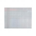 Сотовый поликарбонат для теплиц  2.10х6.0м  3.5 мм ПРОЗРАЧНЫЙ