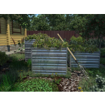 Компостер садовый  Rall 6005 (Зеленый Мох) 750х750мм (h-60см)