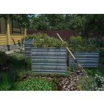 Компостер садовый  Rall 6005 (Зеленый Мох) 750х750мм (h-80см)