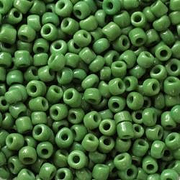 Бисер Тайвань (уп. 10 г) 0007М зеленый матовый