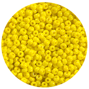 Бисер Тайвань (уп. 10 г) 0042 желтый матовый