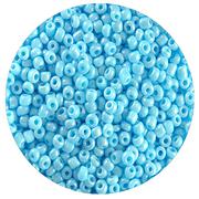 Бисер Тайвань (уп. 10 г) 0123 голубой перламутровый