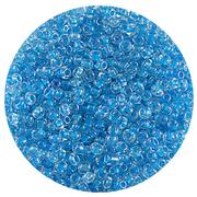 Бисер Тайвань (уп. 10 г) 2208 голубой с цветным центром