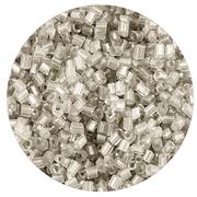Бисер Тайвань рубка (уп. 10 г) 0021 серебристый
