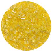 Бисер Тайвань рубка (уп. 10 г) 0122 желтый перламутровый