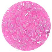 Бисер Тайвань рубка (уп. 10 г) 0151 розовый перламутровый