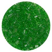 Бисер Тайвань рубка (уп. 10 г) 1167/1 зеленый