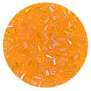 Бисер Тайвань рубка (уп. 10 г) 1169 оранжевый радужный