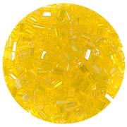 Бисер Тайвань рубка (уп. 10 г) 1170 желтый радужный