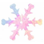 Пайетки «фигурки» Астра снежинки 25 мм (уп. 10 г) 319 сирен.-мята