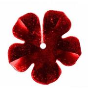 Пайетки «фигурки» Астра цветок 16 мм (уп. 10 г) 03 красн.
