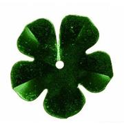 Пайетки «фигурки» Астра цветок 16 мм (уп. 10 г) 04 яр.-зел.