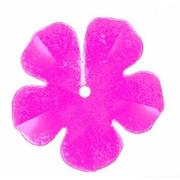 Пайетки «фигурки» Астра цветок 16 мм (уп. 10 г) 08 малинов.