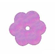 Пайетки «фигурки» Астра цветочки 10 мм (уп. 10 г) 23 сирен.-мята