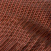 Ткань подкл. вискоза 48%; п/э 52%, №021 коричневый (полоска)