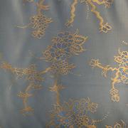 Ткань подкл. вискоза 48%; п/э 52%, №045 синий (золот. цветы)