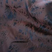 Ткань подкл. вискоза 48%; п/э 52%, №064 коричневый (абстракция)