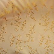 Ткань подкл. вискоза 48%; п/э 52%, №067 песочн. (золот. цветы)