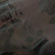 Ткань подкл. вискоза 48%; п/э 52%, №103 коричневый (розы)