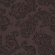 Ткань подкл. вискоза 48%; п/э 52%, №113 коричневый (огурцы)