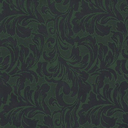 Ткань подкл. вискоза 48%; п/э 52%, №119 зелен. (коричн. раст. узор)