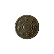 Пуговицы джинс. д.17 мм с рис. оксид (уп. 1000 шт.)