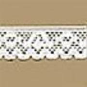 Резинка ажурная 12 мм Блитц DT-01 (уп. 25 м) бел.